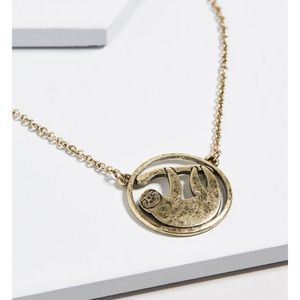 Sloth Necklace from Modcloth!